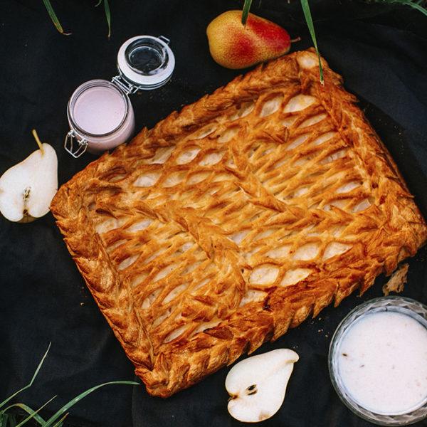 Пирог с грушей2