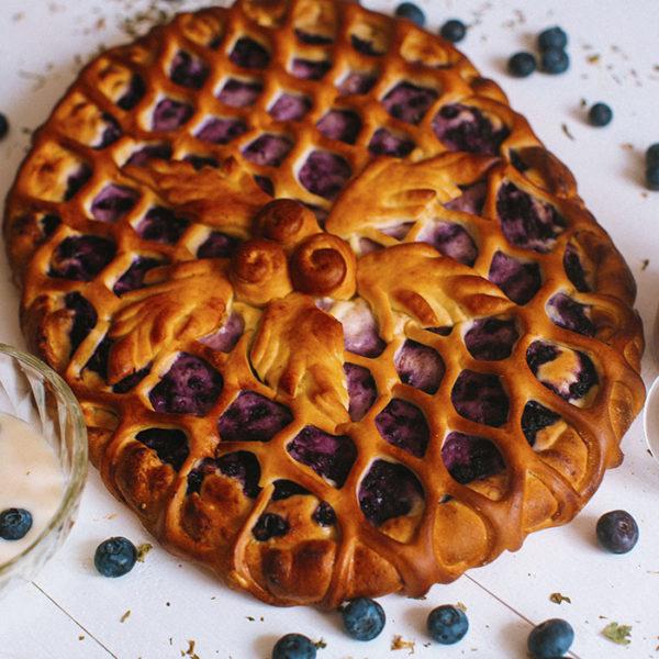 Пирог с черникой1