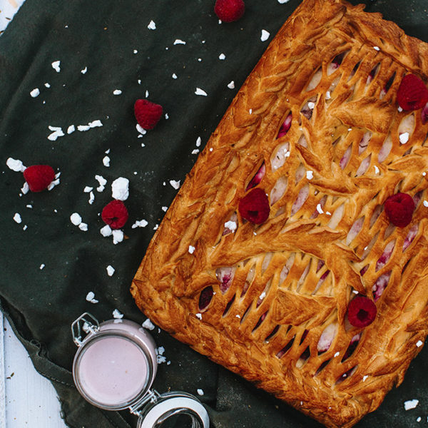 пирог малиновая фантазия
